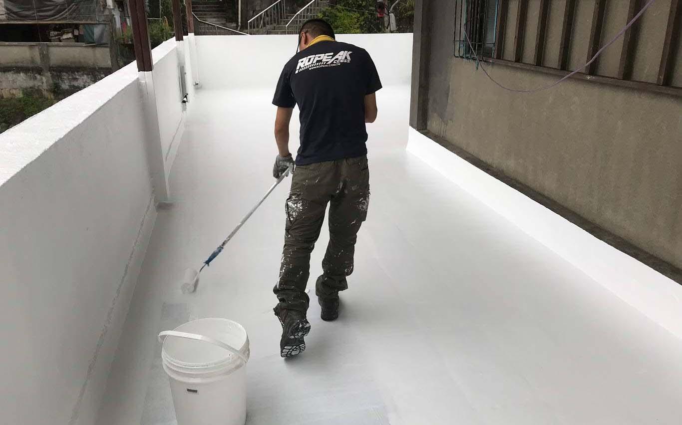 屋頂地坪防水隔熱施作